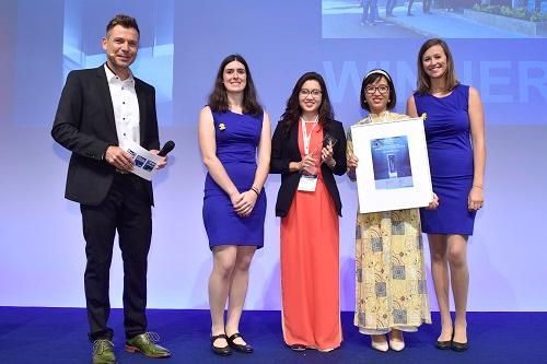 Công ty Irex giành chiến thắng ở cuộc thi E-Smarter Award trong khuôn khổ Intersolar 2018.