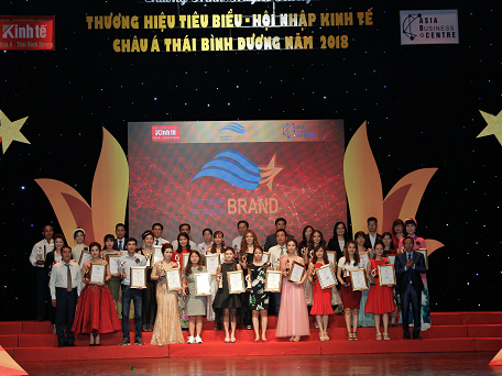 Cozy đạt giải 'Thương hiệu tiêu biểu châu Á - Thái Bình Dương 2018'