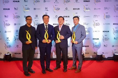 Tập đoàn MIKGroup bội thu giải thưởng cho nhiều dự án