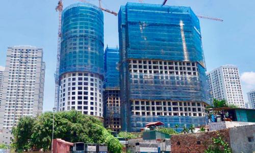 Sunshine Group sắp cất nóc khu căn hộ chung cư xanh 3.000 tỷ đồng