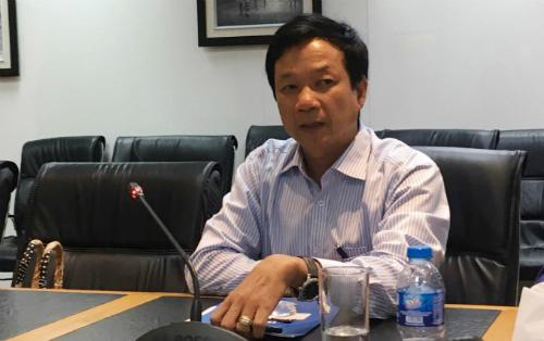 Tổng giám đốc Eximbank Lê Văn Quyết cho biết thoả thuận tạm ứng này không ảnh hưởng đến công đoạn tố tụng của vụ án hình sự và vụ việc vẫn chờ kết quả của Toà. Ảnh: Lệ Chi.