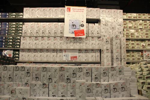 Choice L phát triển hơn gần 1000 mặt hàng có phong phú chọn lọc cho người tiêu dùng Việt N