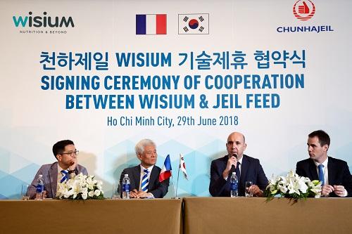 Eric Carfi, giám đốc phát triển kinh doanh của Wisium ở Châu Á: