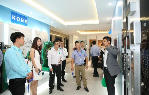 Trung tâm Đào tạo KONE trưng bày công nghệ tối ưu của biện pháp lưu chuyển con người Advance People Flow