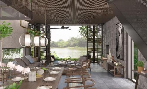 Resort X2 Hội An có thiết kế hài hòa thiên nhiên
