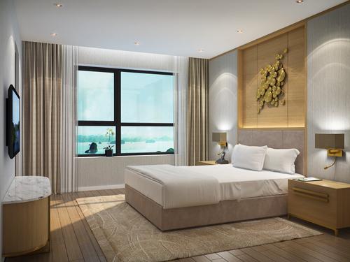 Căn hộ 3 trong 1 ở Ha Long Bay view - 1