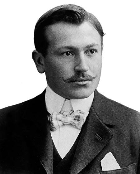 Hans Wilsdorf, nhà sáng lập hàng đồng hồ danh tiếng Rolex. Ảnh: Rolex Magazine.