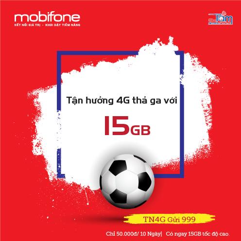 Để đăng kí gói cước TN4G của MobiFone