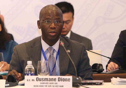 Ông Ousmane Dione - Giám đốc quốc gia Ngân hàng Thế giới ở Việt Nam