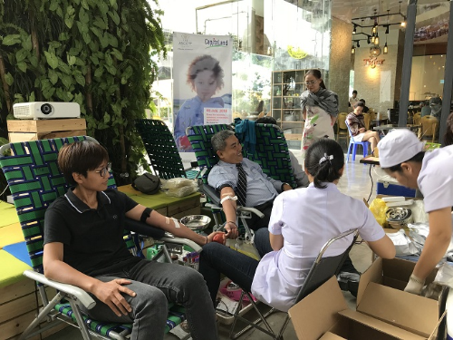 CapitaLand tổ chức hiến máu nhân đạo năm thứ 12 liên tiếp
