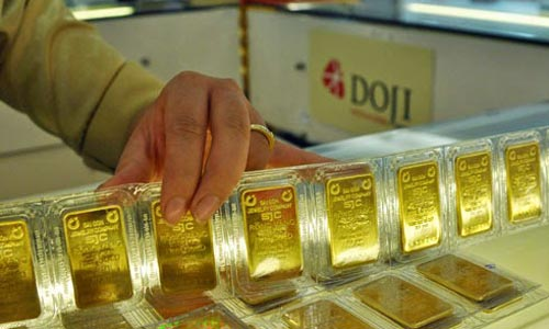 Giao dịch vàng miếng trong nước có sự sôi động trở lại. Ảnh: PV.
