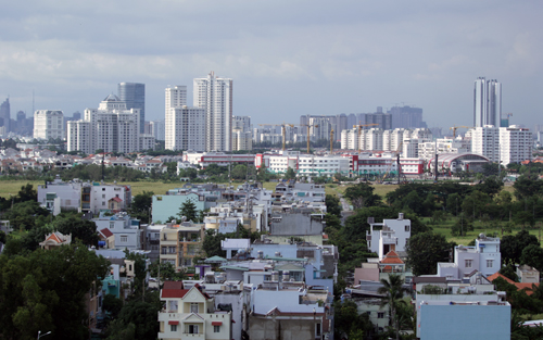 Nguồn cung căn hộ TP HCM sụt giảm