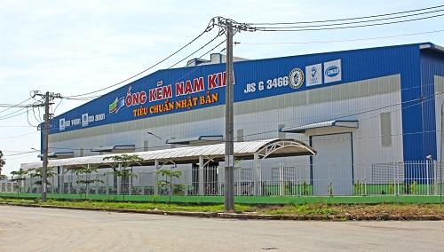 Thép Nam Kim đầu tư nâng công suất lên một triệu tấn năm