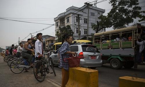 Người dân Myanmar kỳ vọng chất lượng cuộc sống sẽ cao hơn rõ rệt. Ảnh: Bloomberg