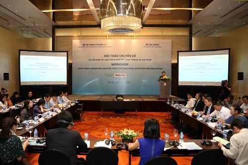 Hội thảo chuyên đề về ưu đãi đầu tư và giao dịch liên kết được tổ chức sáng nay (10/7).