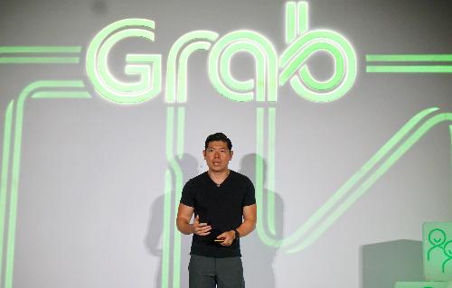 Ông Anthony Tan - CEO và Đồng sáng lập Grab trong buổi mở bán chiến lược thành siêu áp dụng. Ảnh: Viễn Thông