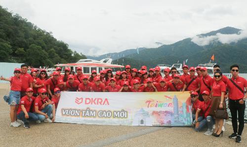 DKRA Vietnam xuất ngoại Đài Loan 180 chiến binh sales (khách xin bài edit, em cảm ơn)