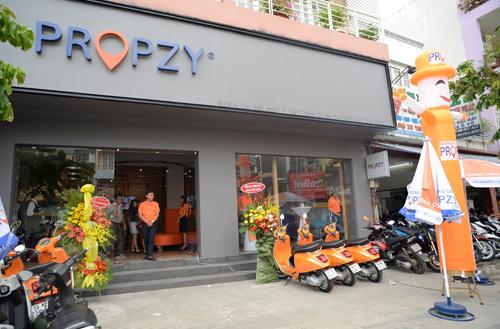 Propzy khai trương trung tâm giao dịch Phan Huy Ích tại Gò Vấp