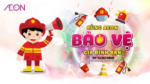 Tại chương trình, khách mua sẽ được tham dự một vài trò chơi liên quan đến phòng cháy chữa cháy.