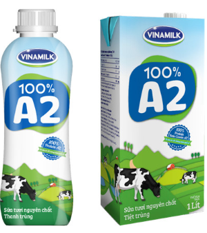 Sữa A2 thanh trùng Sữa A2 tiệt trùng.