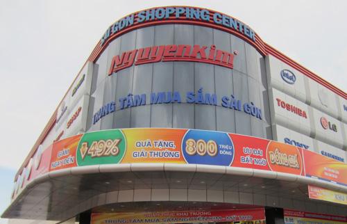 Cục thuế cưỡng chế tài khoản Nguyễn Kim để thu gần 150 tỷ đồng