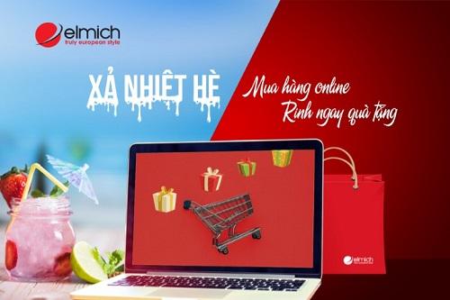 Chương trình dành cho khách hàng mua ở shop.elmich.vn