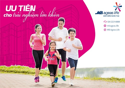 Tháng 7 này, Bảo hiểm nhân thọ MB Ageas Life sẽ triển khai chiến dịch Ưu Tiên cho trải nghiệm lớn khôn của trẻ.