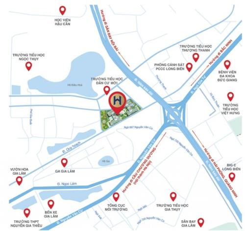 3 điểm nhấn giúp Hanoi HomeLand thu hút khách hàng tại Long Biên