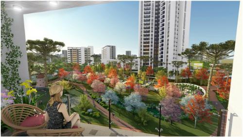 Phía Nam Hà Nội có thêm một khu đô thị xanh