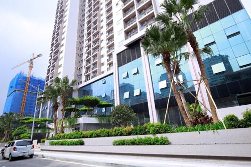 Thanh Xuân Complex đầu tư mạnh cho hệ thống phòng cháy chữa cháy.
