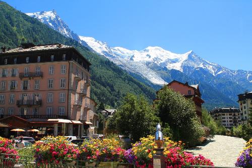 Khu nghỉ dưỡng núi Chamorix Mont Blanc - Pháp.