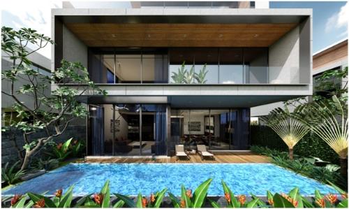 36 villa hạng sang đậm phong cách châu Âu tại One River