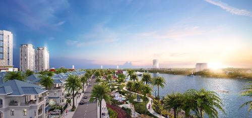 Khu đô thị Vạn Phúc chi 300 tỷ xây bờ kè sông Sài Gòn