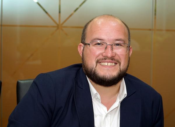 Ông Kristaps Strēlis, Giám đốc điều hành Amber Capital Holding. Ảnh: Tuấn Nhu.