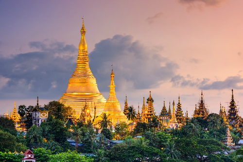 Vé khuyến mại tiến hành trên các con phố bay Hà Nội - Yangon (Myanmar).