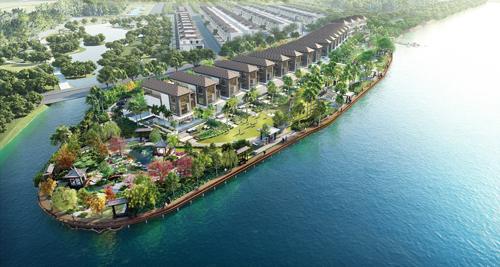 Khu biệt thự ven sông Lavila De Rio tại Nam Sài Gòn