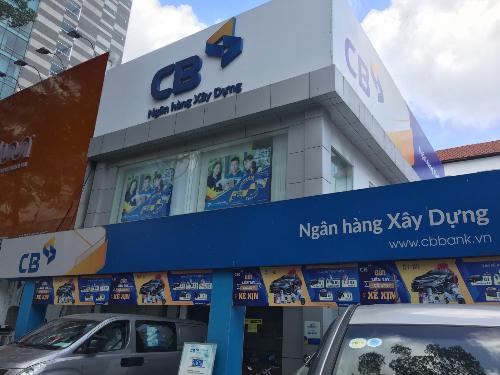 Bộ nhận diện thương hiệu của ngân hàng đồng nhất trên toàn quốc.