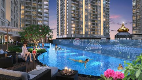 Hinode City đưa triết lý sống cân bằng vào căn hộ