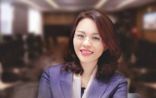 Tân tổng giám đốc FLC - bà Hương Trần Kiều Dung.