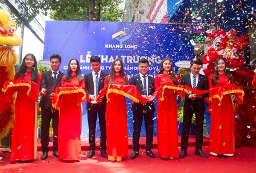 Địa ốc Khang Long khai trương chi nhánh thứ 3 ở Biên Hòa.