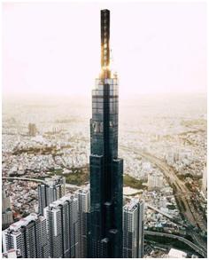 California Centuryon vinh dự có mặt ở tòa nhà cao nhất Việt Nam - Landmark 81, Vinhomes Central Park.
