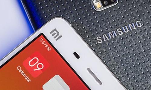 Hai mẫu liên hệ của Samsung và Xiaomi. Ảnh: Xiaomi Today