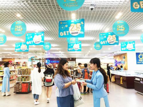 Khách hàng nhận voucher ưu đãi 25% ở hệ thống cửa hàng phân phối lẻ SASCO Shop