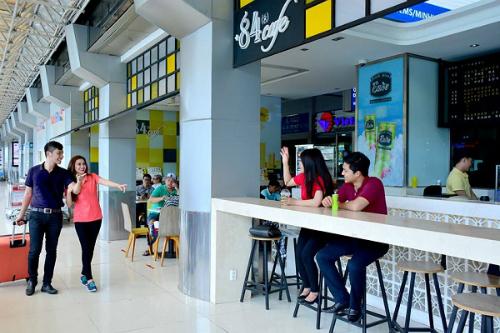 Hệ thống cà phê +84 ở sân bay Tân Sơn Nhất