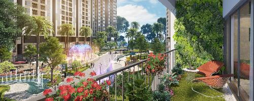 Điểm nhấn thiết kế của tổ hợp dự án Imperia Sky Garden