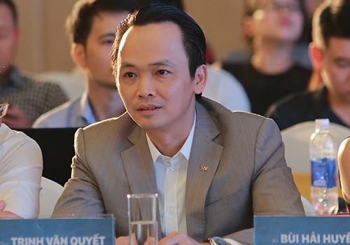 Chủ tịch FLC Trịnh Văn Quyết cho biết, Bamboo Airways có phân khúc giá vé rẻ. Ảnh: Anh Duy.