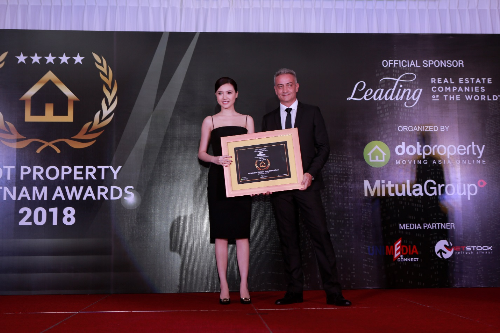 Sunshine Group nhận hai giải tại Dot Property Vietnam Awards
