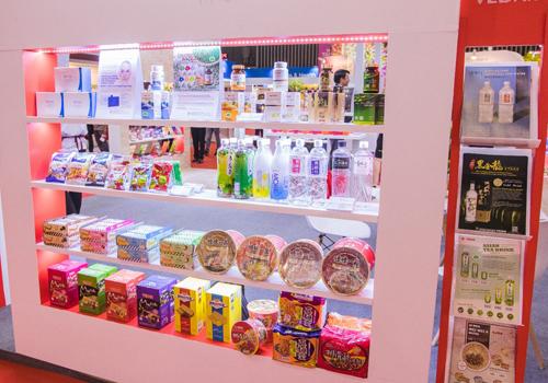 Các dòng sản phẩm công nghệ sinh học và hàng tiêu dùng cũng được Vedan công bố ở triển lãm.
