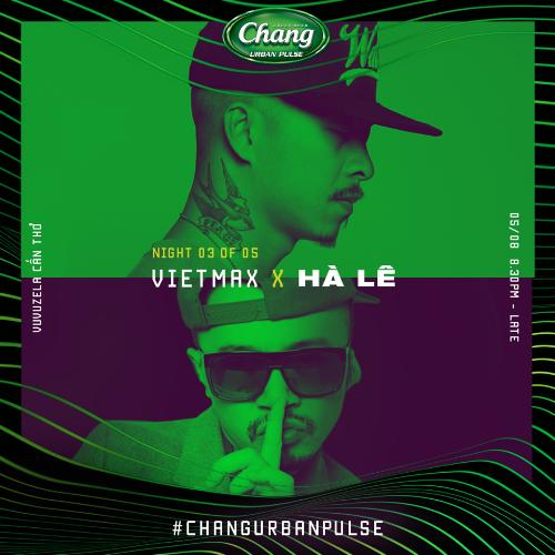 Việt Max là gương mặt chính, đại diện của sự kiện Chang Urban Pulse 2.0.