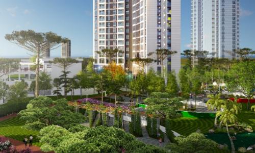 45 triệu đồng một m2 căn hộ dịch vụ cao cấp tại Hồng Hà Eco City